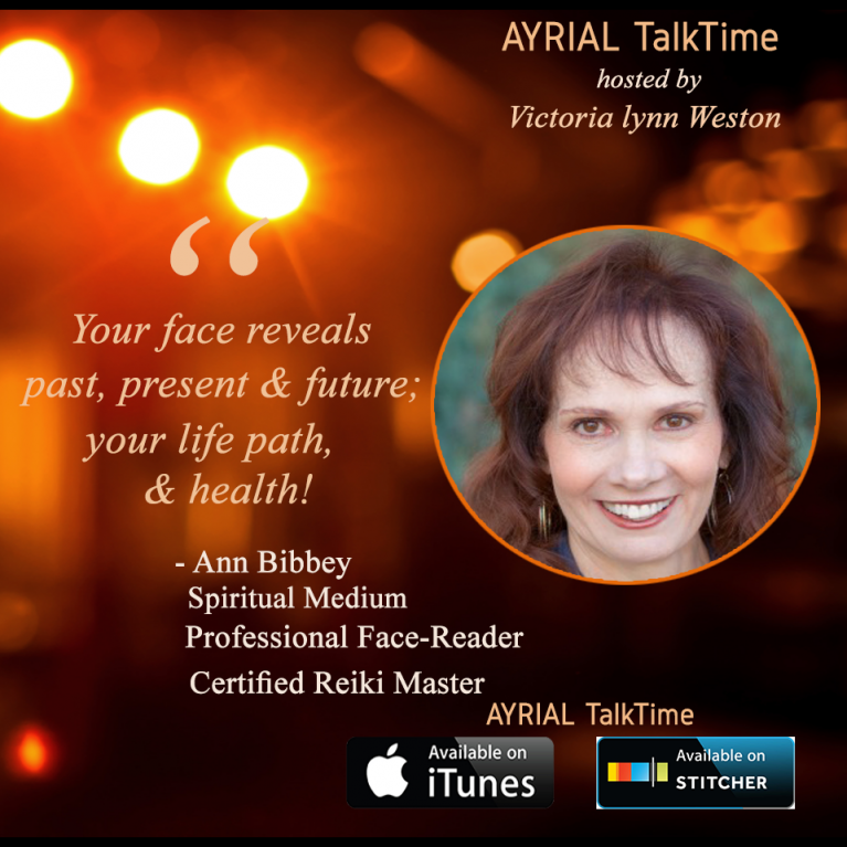 ann bibbey face reader - spiritual medium