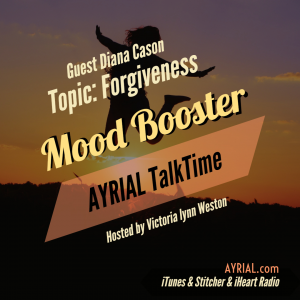 GameChangers Author Talks About Forgiveness on AYRIAL TalkTime