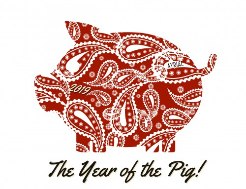 How to have Good Luck during the Year of the Pig 2019