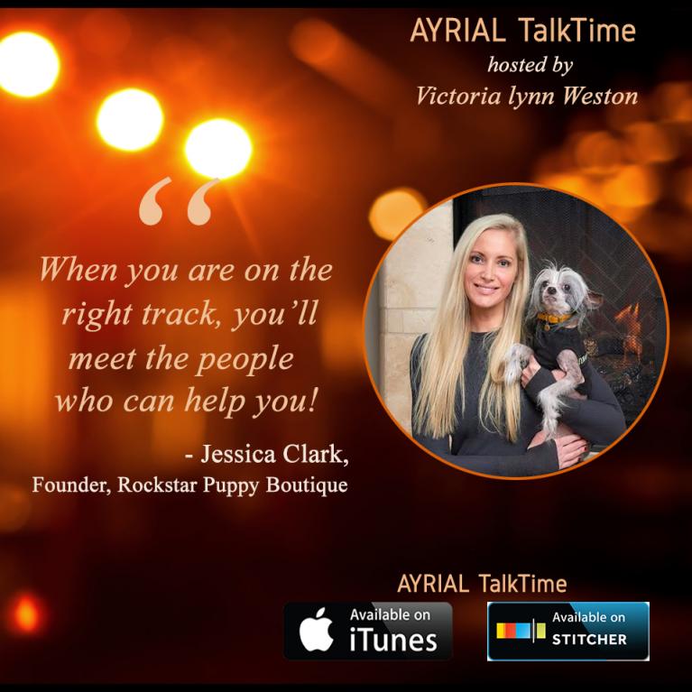 Jessica Clark Founder of Rockstar Puppy Boutique