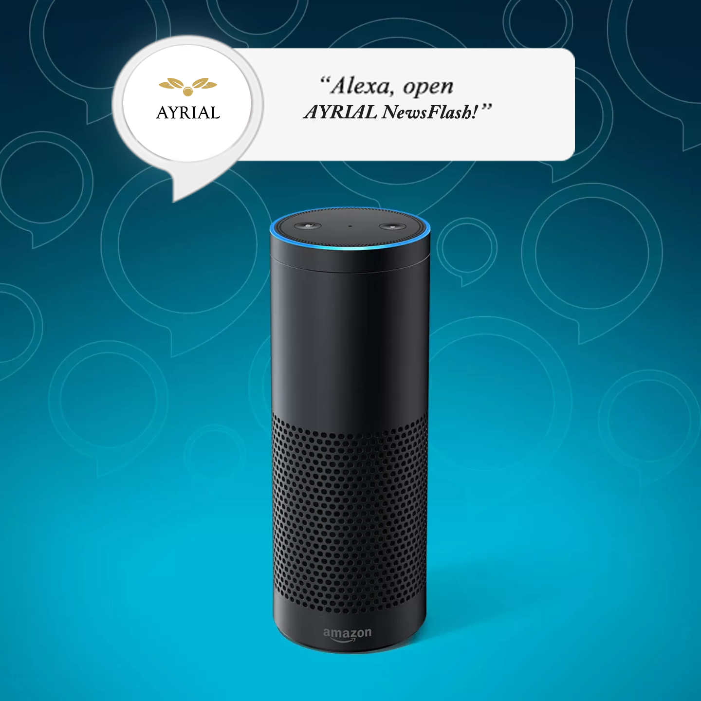 March 12-13 2018 AYRIAL NewsFlash Alexa Skill