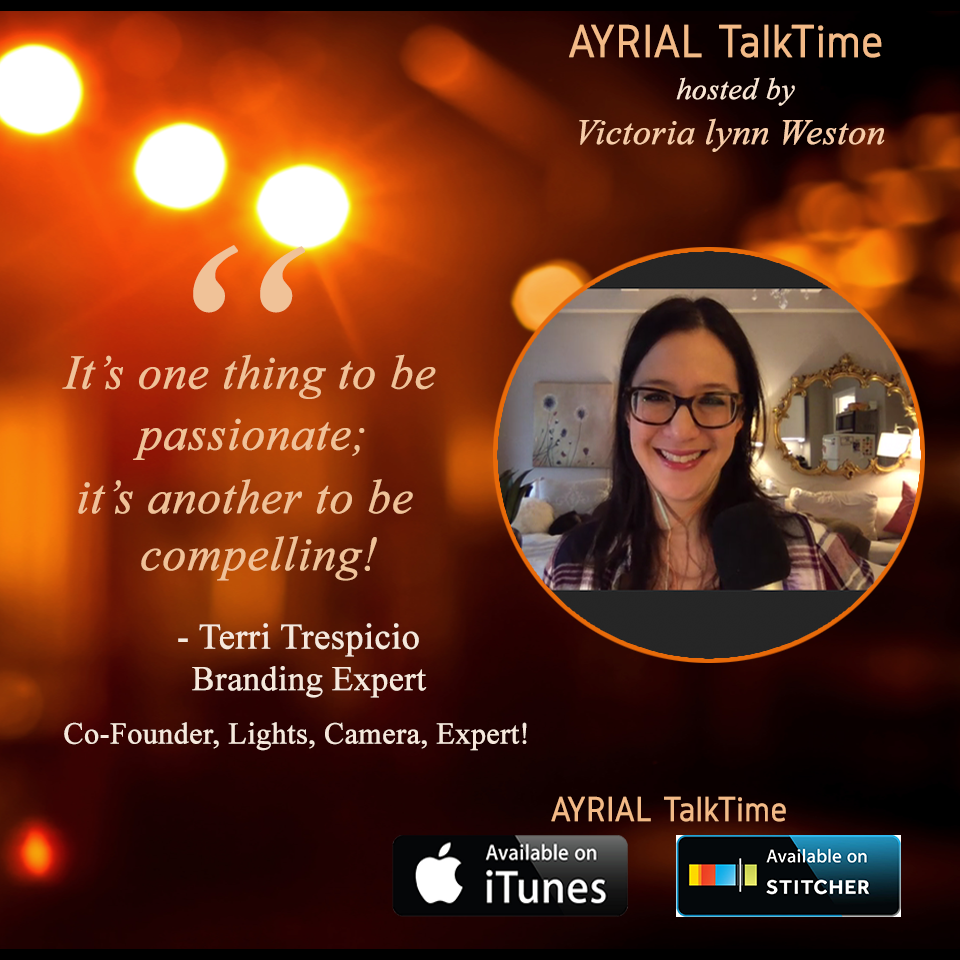 Leading Personal Business Brand Expert is Guest on AYRIAL TalkTime