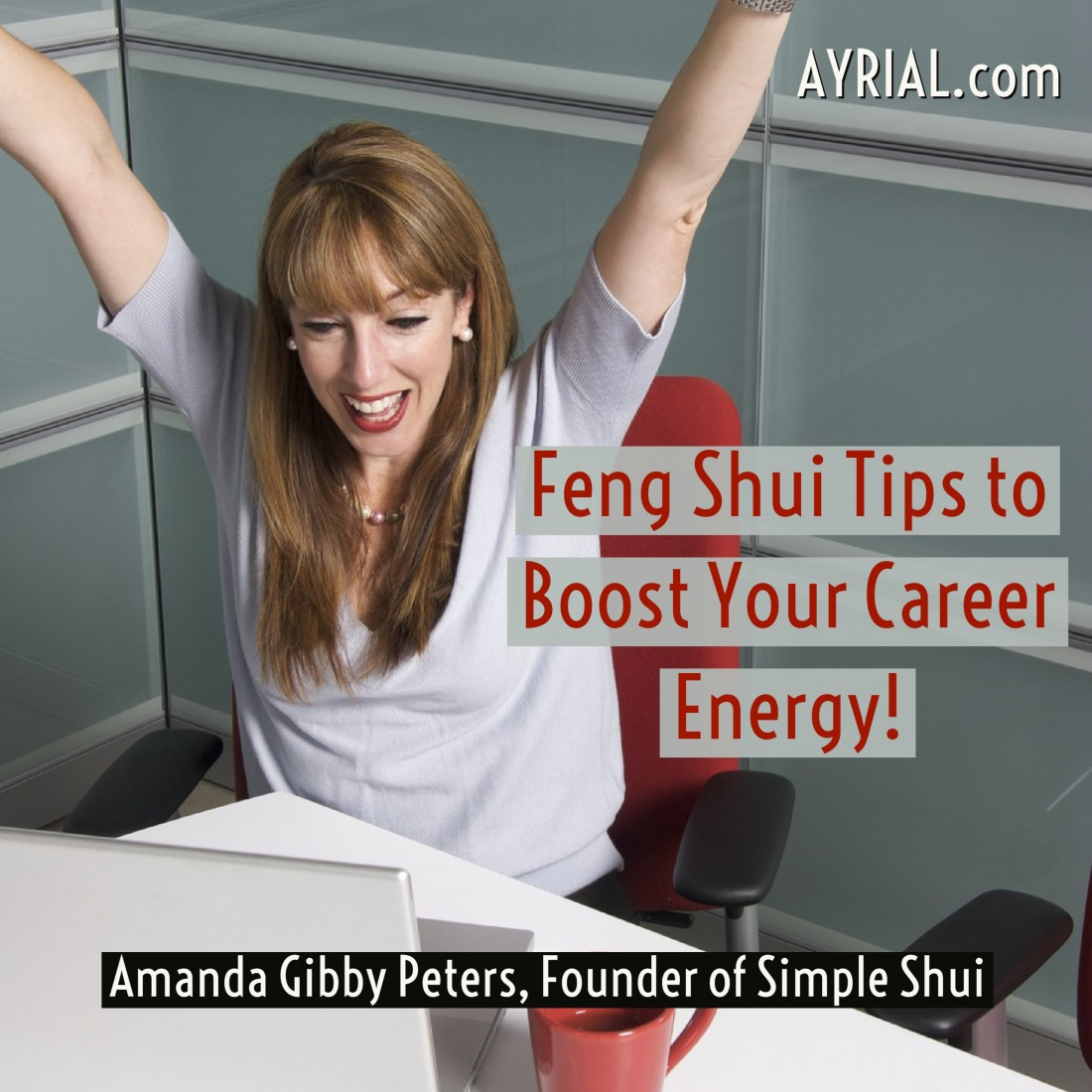 Amanda Gibby Peters -Simple Shui - Feng Shui Tips to boost career energy