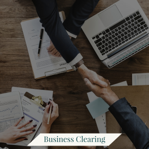 BUSINESS CLEARING AYRIAL LAURIE HUSTON