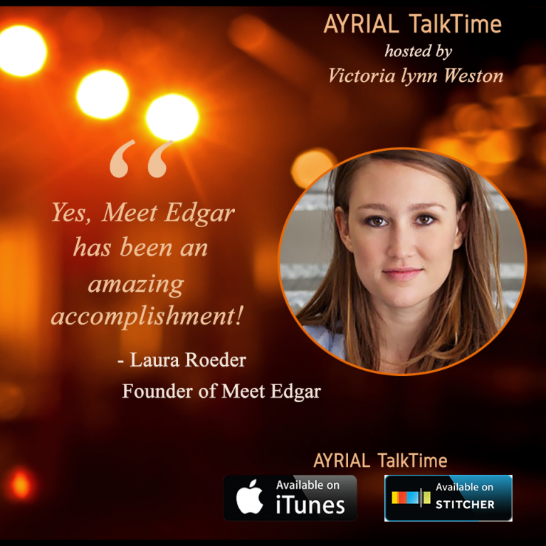 Laura Roeder Founder Meet Edgar