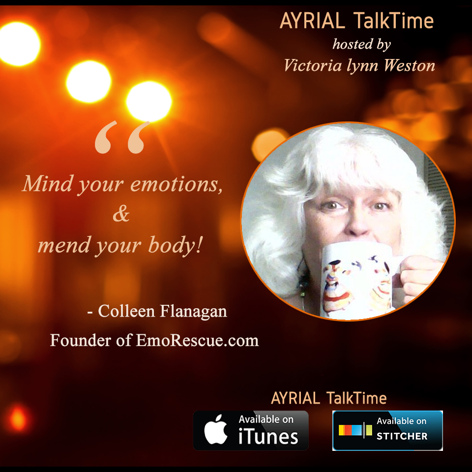 Dowser, Healer, EFT Practitioner and Author is Guest on AYRIAL TalkTime