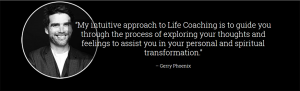 Gerry Phoenix, Life coach, acupuncturist, wellness coach