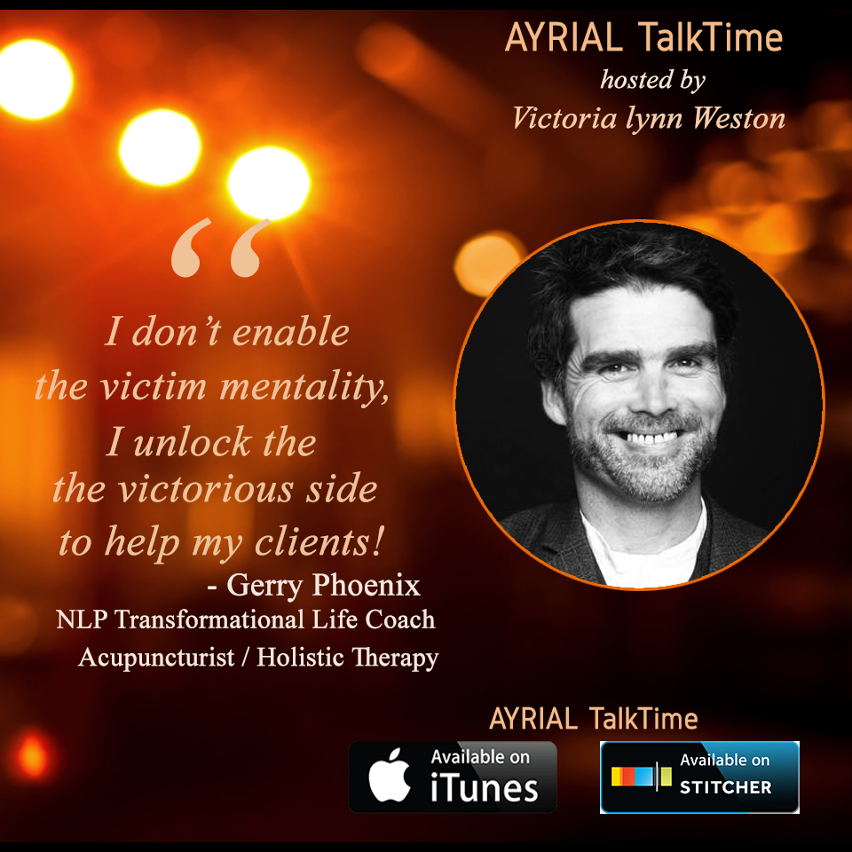 From Musician to Transformational Life Coach is Guest on AYRIAL TalkTime