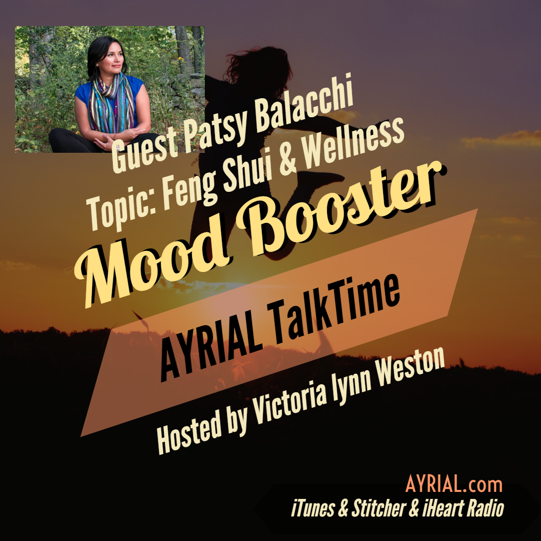 Feng Shui & Wellness Practitioner is Guest on AYRIAL TalkTime