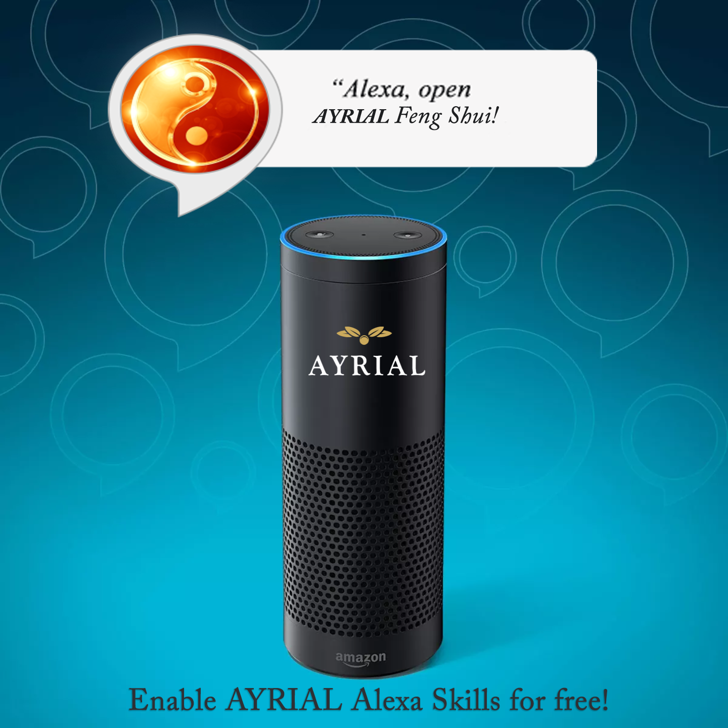 AYRIAL Feng Shui Alexa Skill brings on Founder of Simple Shui
