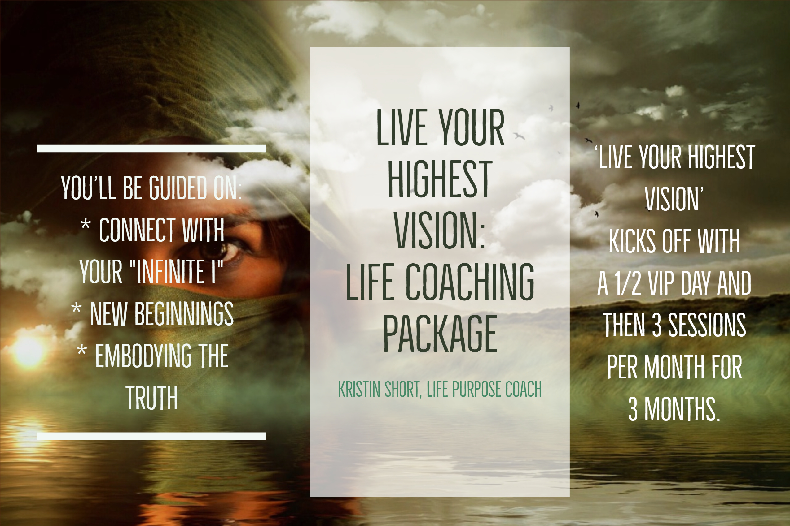 Live Your Highest Vision Coaching Package Kristin Short